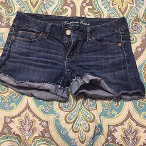 American eagle stretchy jean shorts.